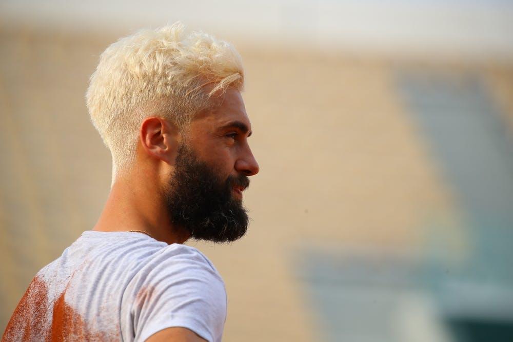 Roland-Garros 2018, Benoît Paire, entraînement, practice