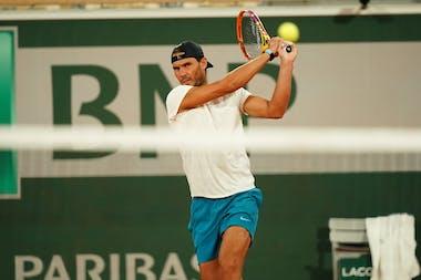 Rafael Nadal, Roland-Garros 2020, practice