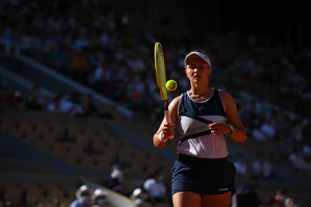 Barbora Krejcikova, Roland-Garros 2021, semi-final