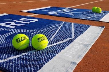 Serviettes officielles, Finales, Roland-Garros, 2020, Carré Blanc