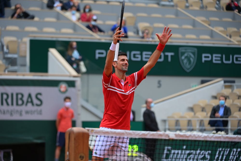 Novak Djokovic, Roland-Garros 2021, third round