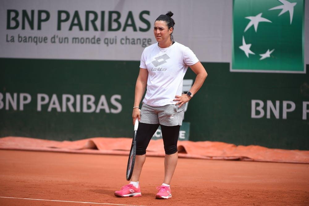 Ons Jabeur, Roland Garros 2021 practice