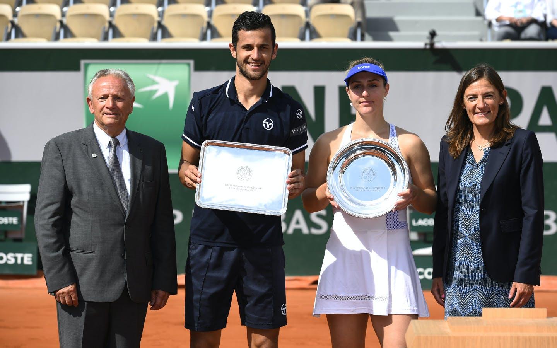 Roland-Garros 2018, Gabriela Dabrowski, Mate Pavic