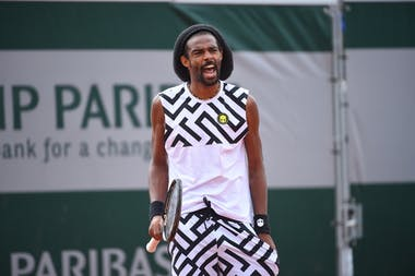 Dustin Brown, Roland-Garros 2020, qualifying second round.