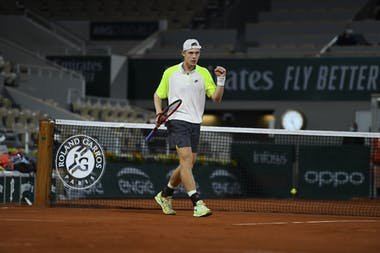 Denis Shapovalov, Roland Garros 2020, first round