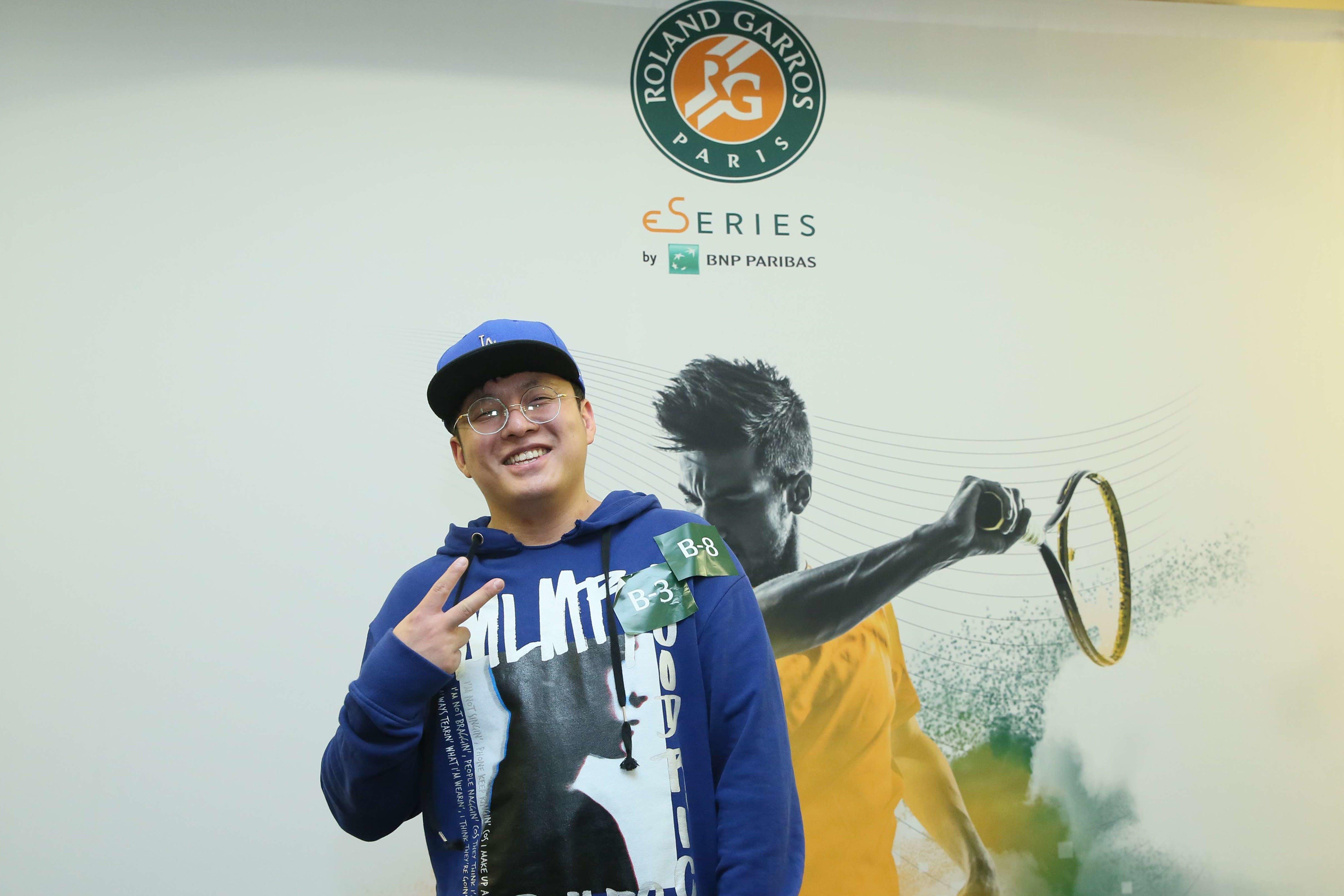 eSeries Roland-Garros à Pekin/ eSeries Roland-Garros in Beijing