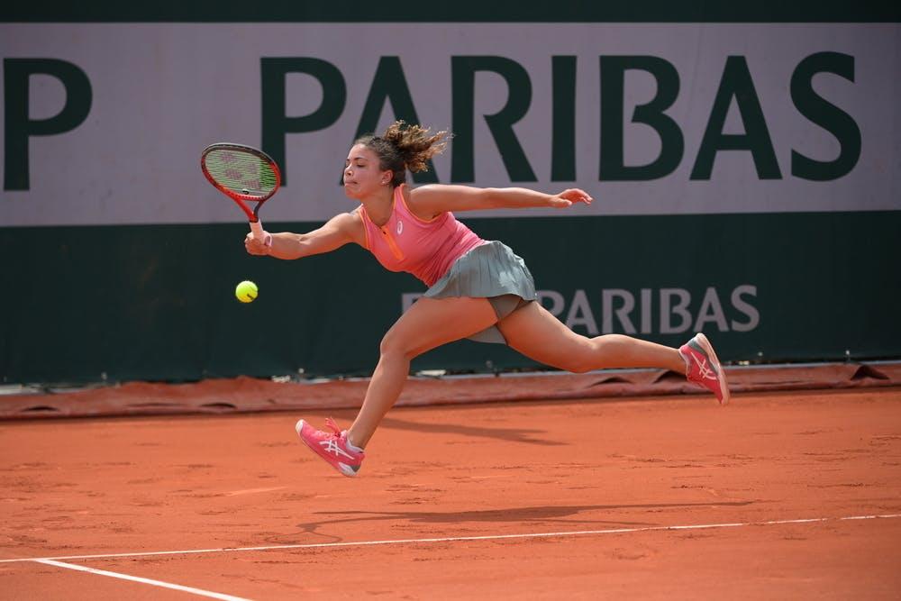 Jasmine Paolini, Roland-Garros 2021, second round