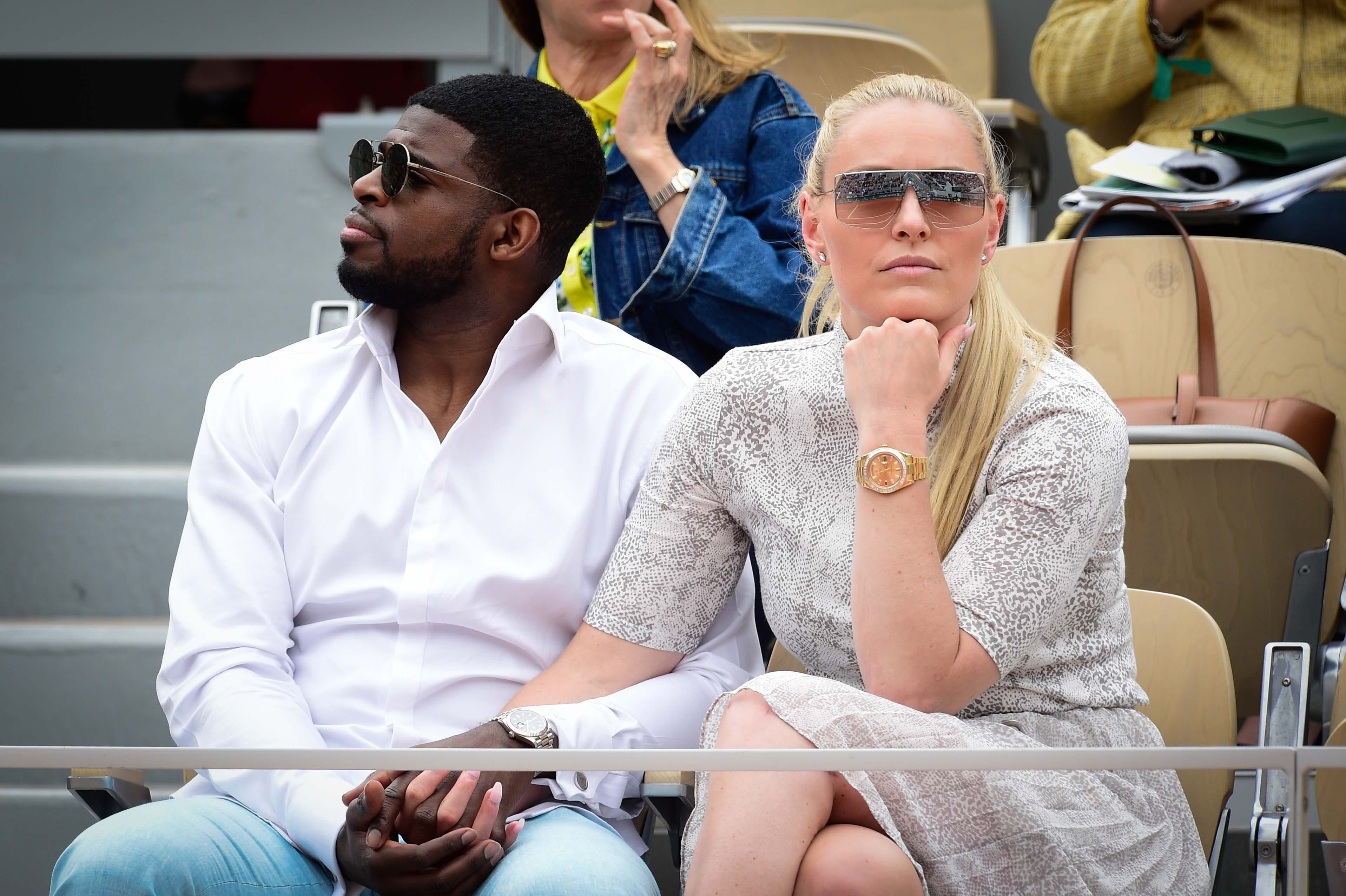 Olympic champion Lindsey Vonn Roland-Garros 2019