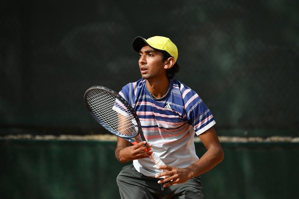 Dev Vipul Javia, Roland Garros 2020, junior wild  card