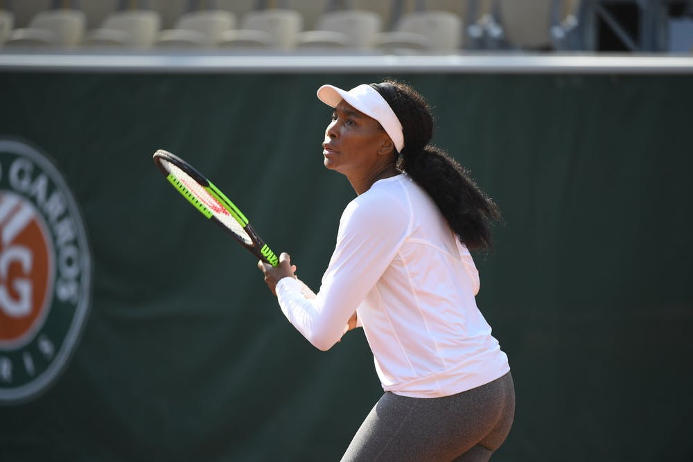Venus Williams - Roland-Garros 2019 - Entraînement
