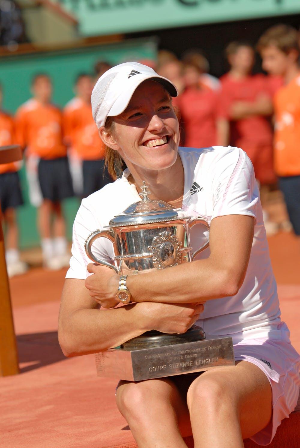 Justine Henin championne Roland-Garros 2006.