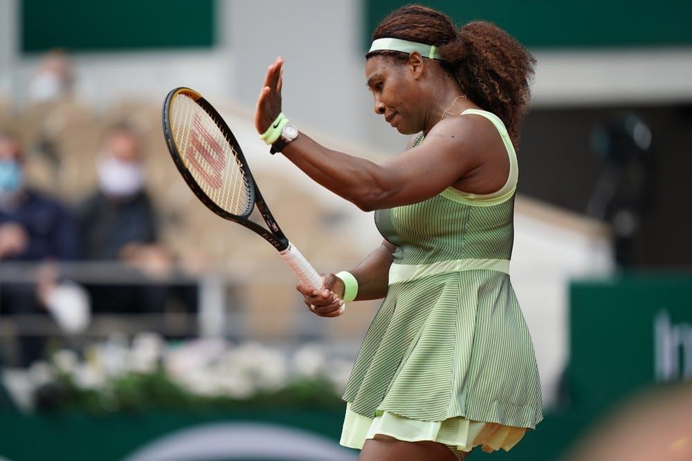 Serena Wiliams Roland Garros 2021