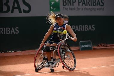Yui Kamiji, Roland Garros 2020, women's wheelchair semi-finals