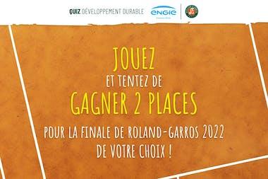Quiz Roland-Garros Développement Durable