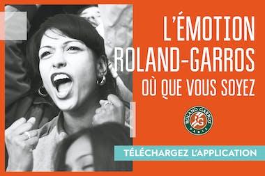 Application Roland-Garros 2020
