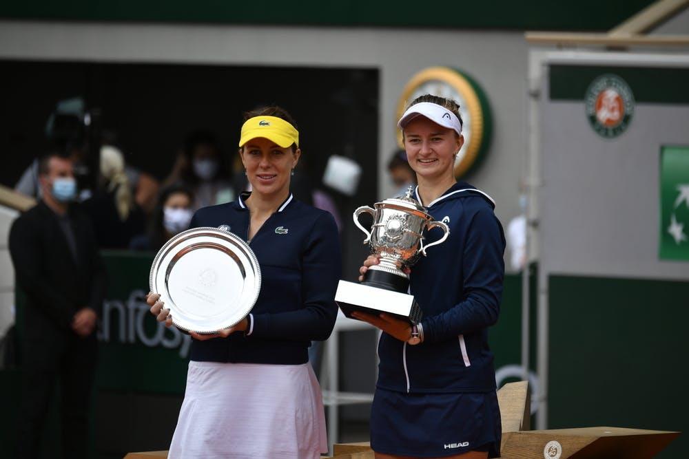 Pavlyuchenkova Krejcikova Roland-Garros 2021