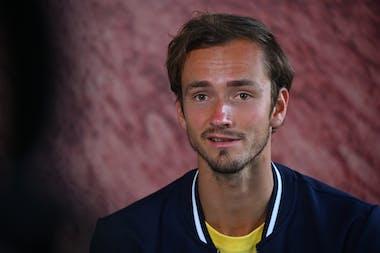 Daniil Medvedev, Roland-Garros 2021, media day