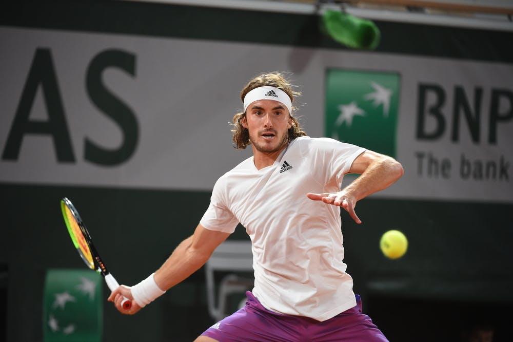 Stefanos Tsitsipas, Roland-Garros 2021 first round
