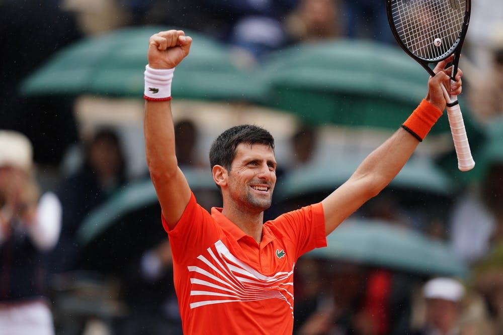 Novak Djokovic - Roland-Garros 2019 huitièmes