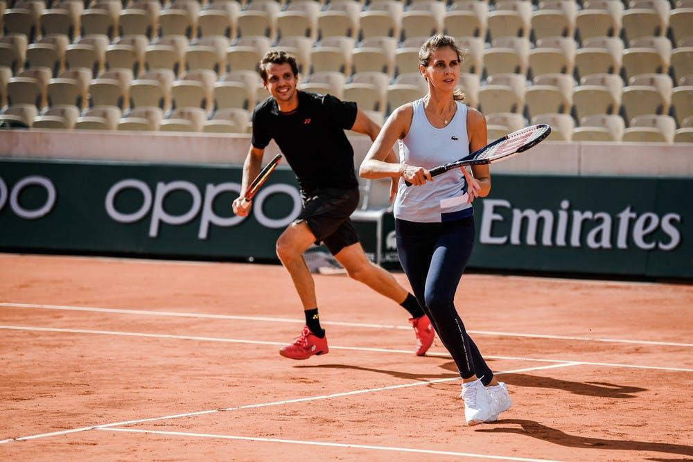 Ophélie Meunier, Pierre-Henri Mathieu, Roland-Garros, Stars Set et Match, 2020