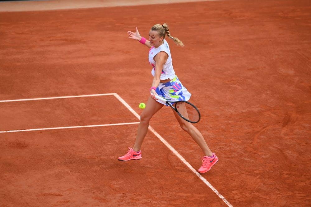 Petra Kvitova, Roland Garros 2020, semi-finals