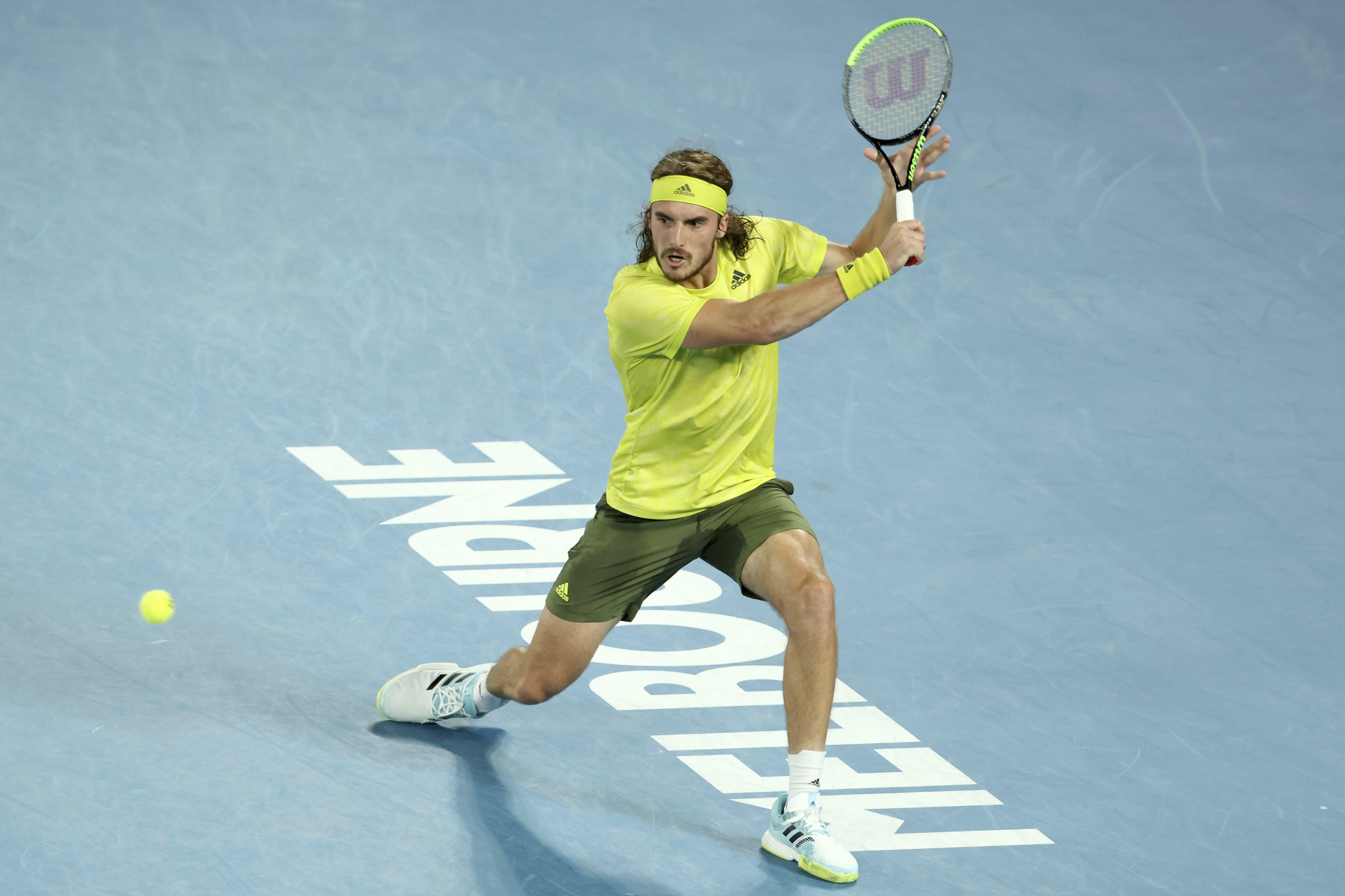 Stefanos Tsitsipas Australian Open 2021