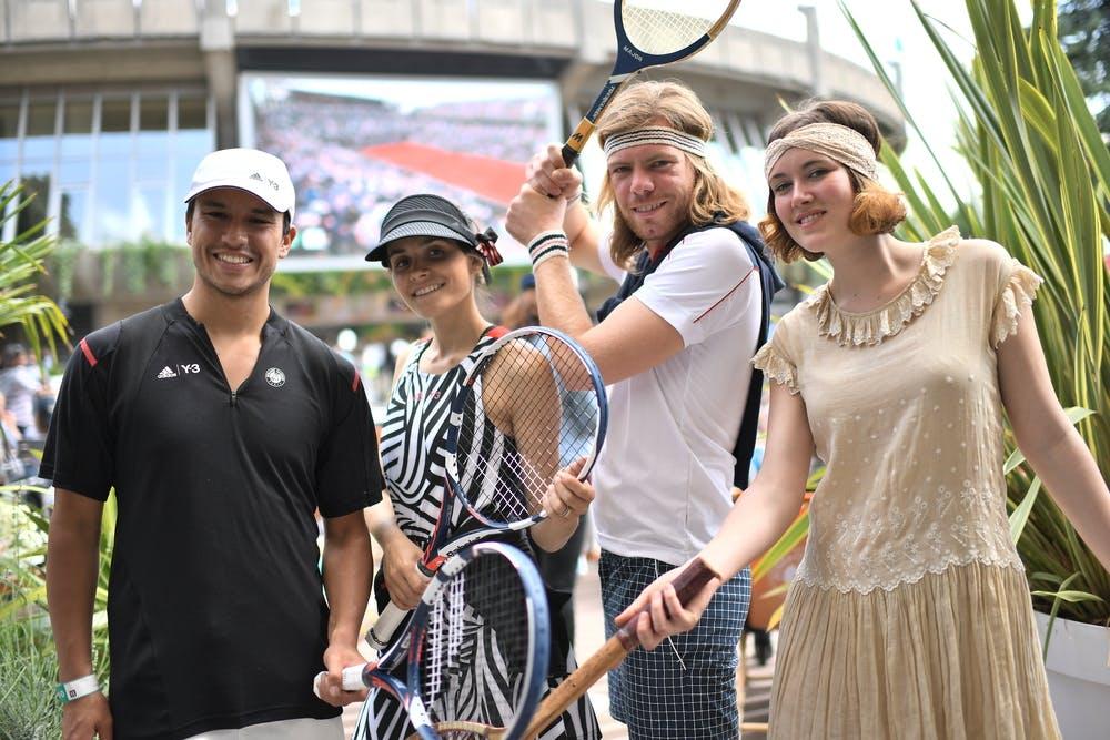 Idoles Roland-Garros Style