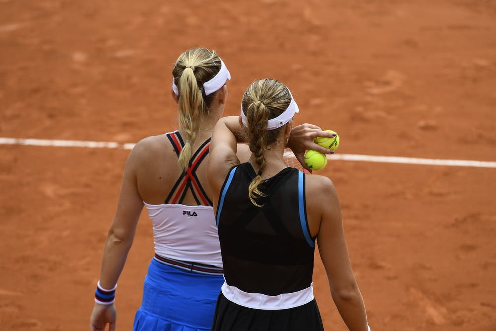 Timea Babos et Kristina Mladenovic