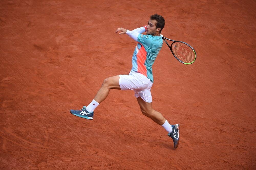 Hugo Gaston, Roland Garros 2020, fourth round