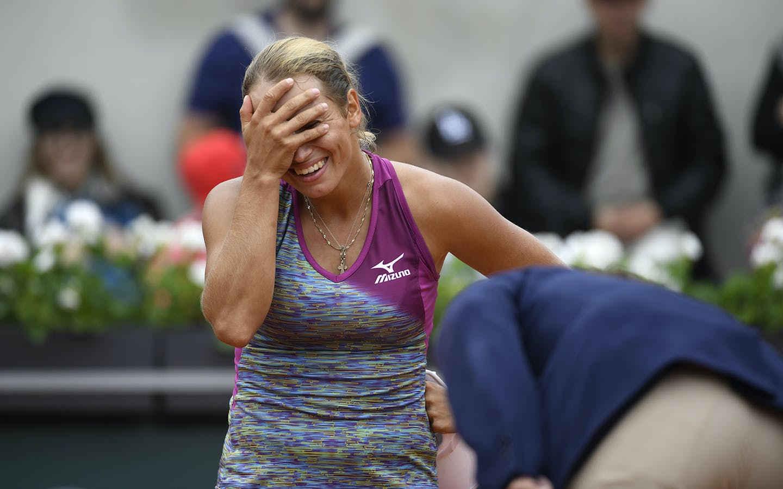 Yulia Putintseva, Roland-Garros 2018