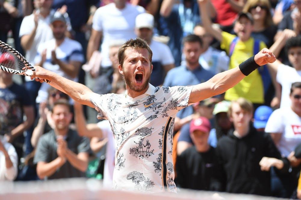 Corentin Moutet Roland Garros 2019 second round