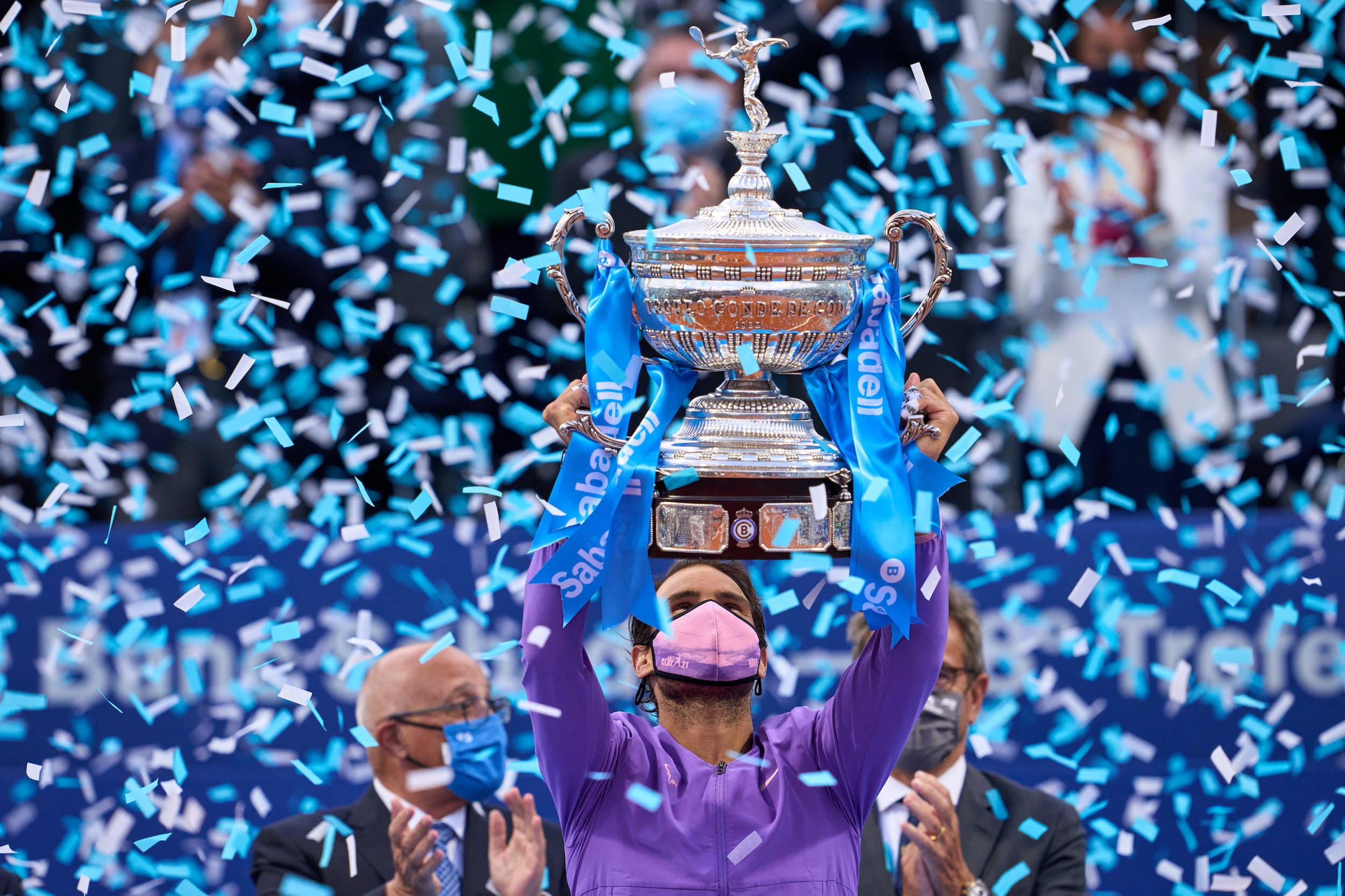 Rafael Nadal Barcelone 2021