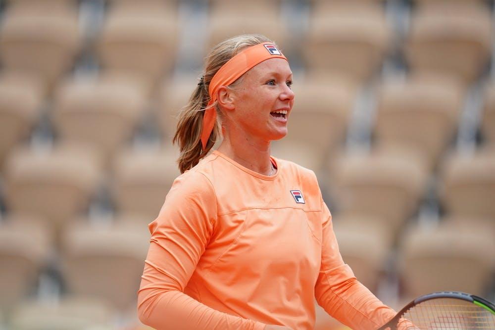 Kiki Bertens, Roland-Garros 2020, 1er tour