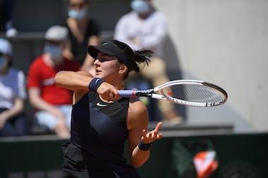 Bianca Andreescu, Roland Garros 2021, first round