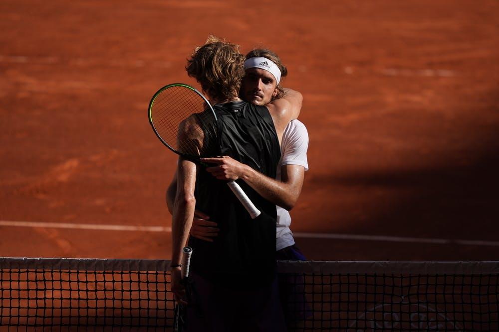 Stefanos Tsitsipas, Alexander Zverev, Roland Garros 2021, semi-final