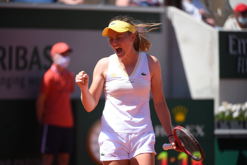 Fiona Ferro, Roland Garros 2021, first round
