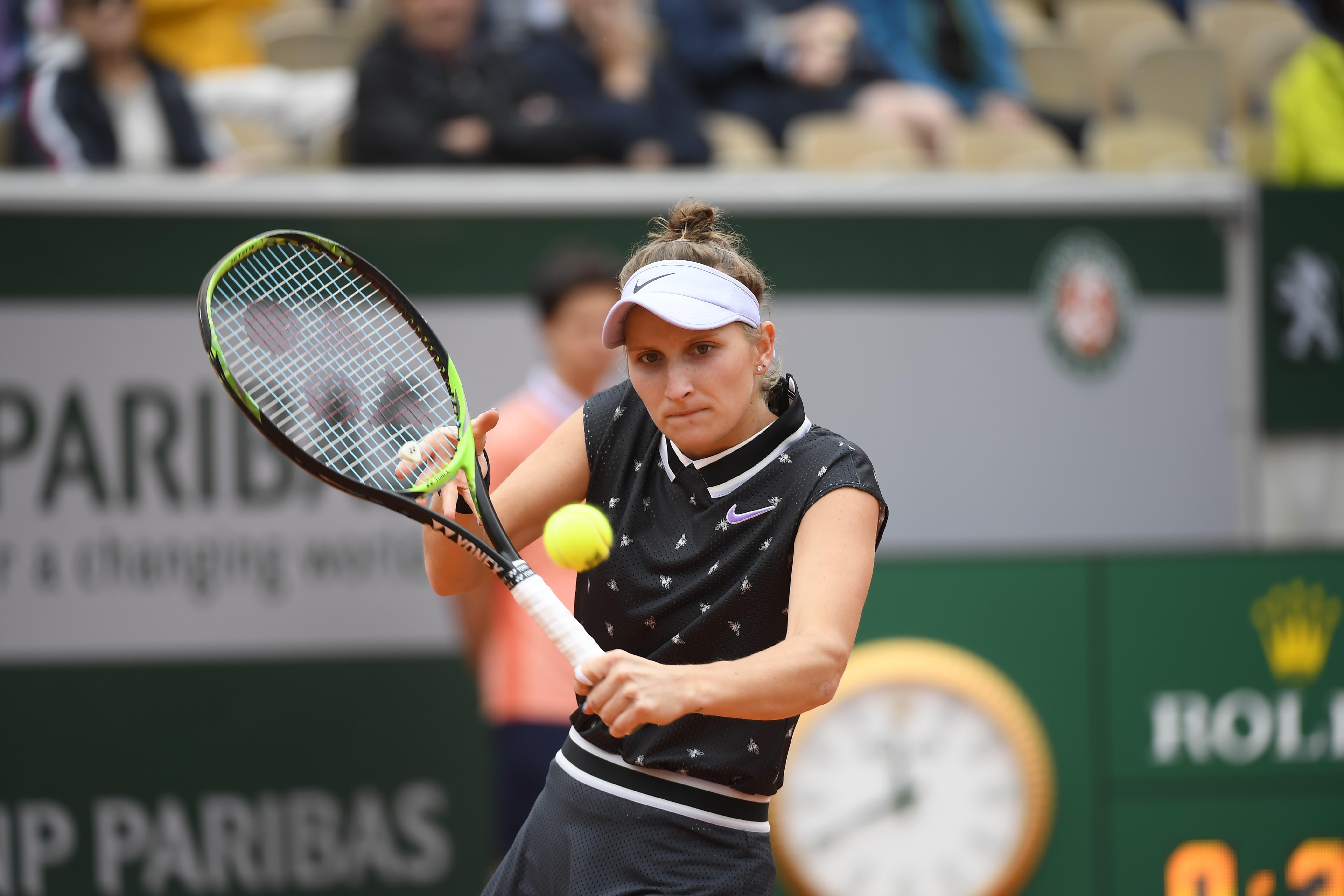 Market Vondrousova - Roland-Garros 2019 - demi-finale