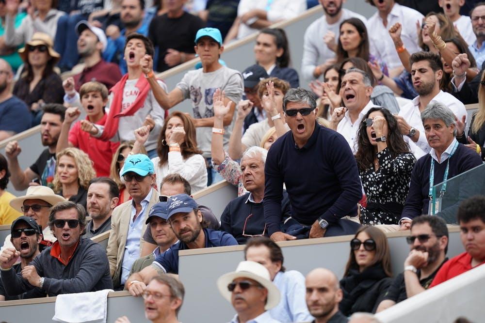 Box Rafael Nadal Roland-Garros 2019