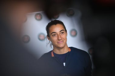 Caroline Garcia, Roland-Garros 2021, media day