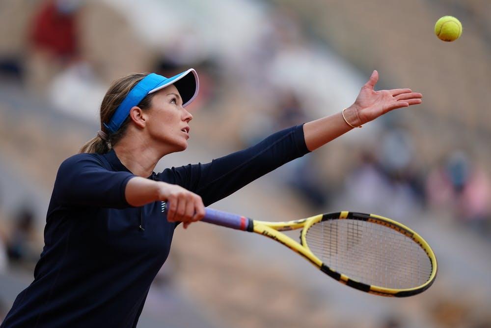 Danielle Collins, Roland-Garros 2020, 1/4 de finale
