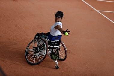 Momoko Ohtani, Roland Garros 2020, women's wheelchairs