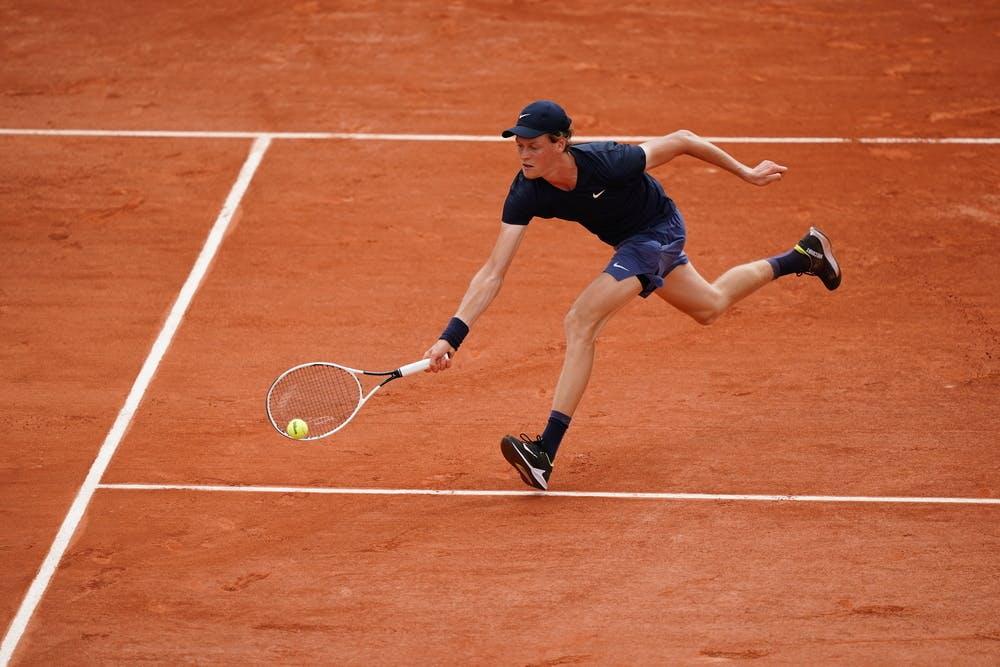 Jannik Sinner, Roland-Garros 2021, second round