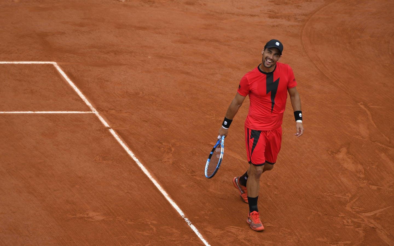Fabio Fognini, Roland Garros 2018, Simple Messieurs, 3eme Tour