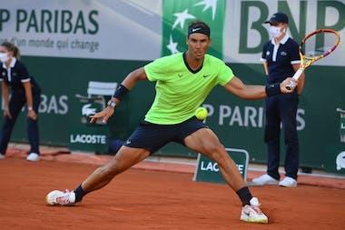 Rafael Nadal, Roland-Garros 2021, fourth round