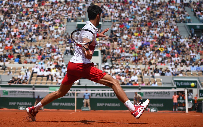 Novak Djokovic, Roland-Garros 2018, 2è tour