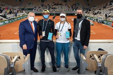Junior Wild Card Series by Oppo: final stage at Roland-Garros