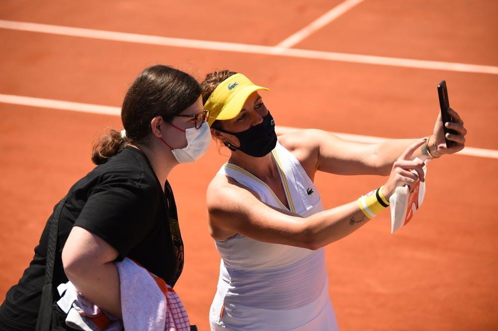 Anastasia Pavlyuchenkova, Roland Garros 2021, first round