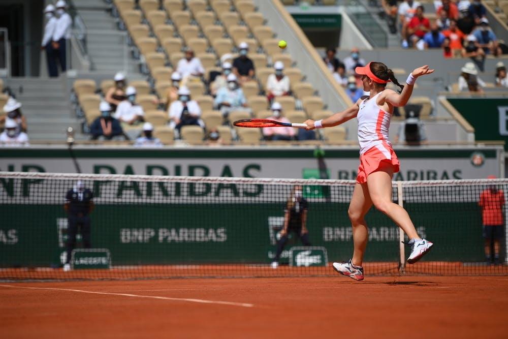 Tamara Zidansek, Roland-Garros 2021, women's semi-final