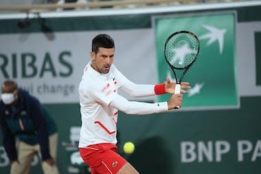 Novak Djokovic Roland-Garros 2020 First round