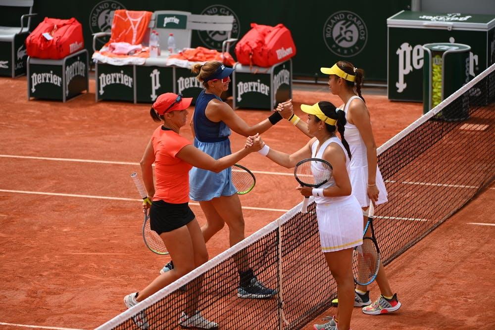 Andreja Klepac, Darija Jurak, Latisha Chan, Hao-Ching Chan, Roland-Garros 2021, women's doubles third round